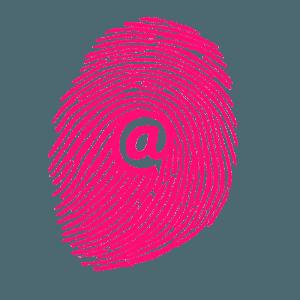 Huella digital contacto