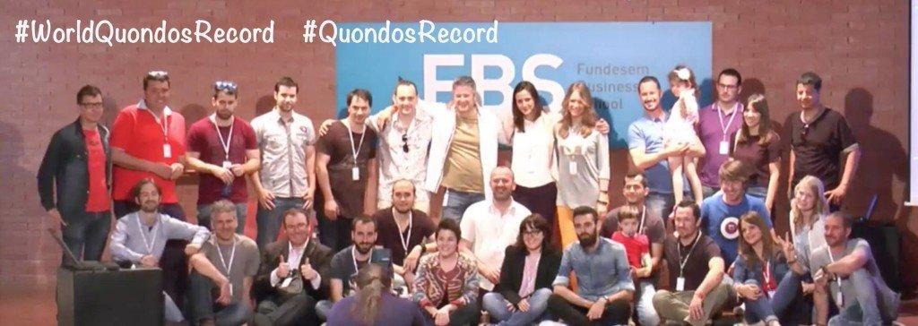 Finalización del eventos Quondos Record