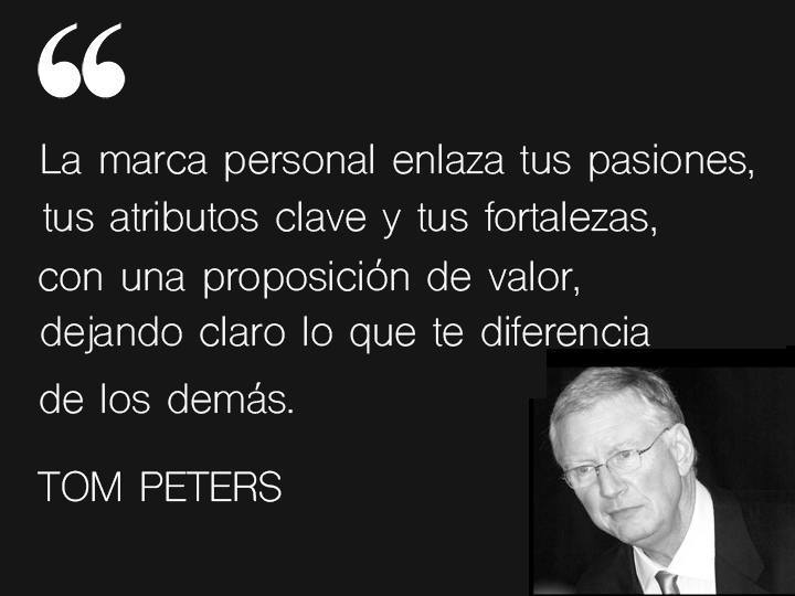 Frase de Tom Peters