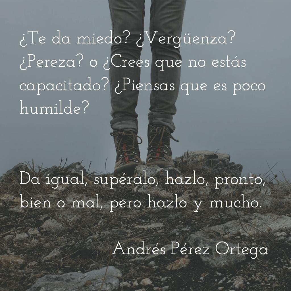 Branding quote Andrés Pérez Ortega