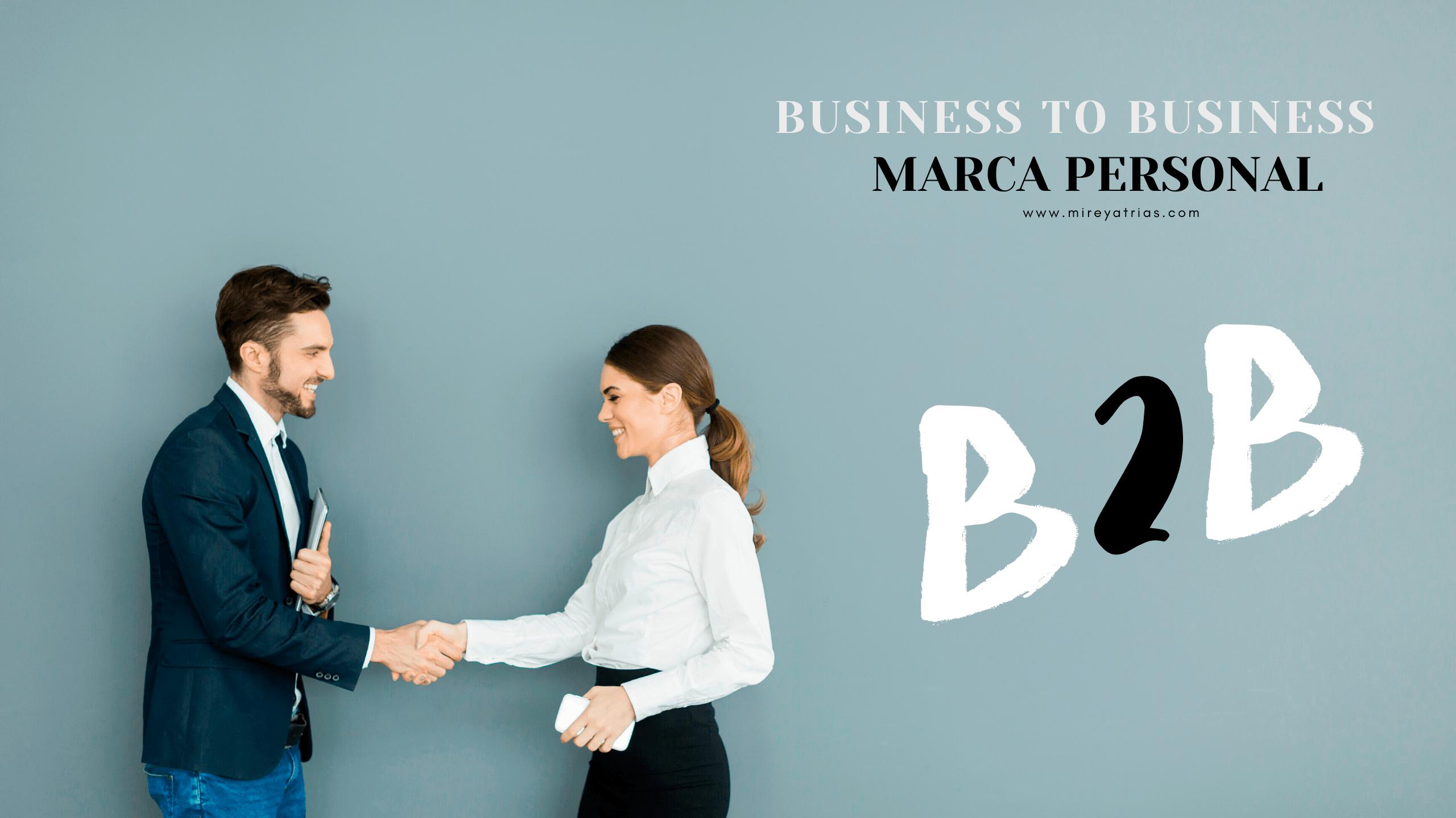 """Marca Personal pra B""""B"""